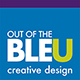 Out of the Bleu Creative Design Logo